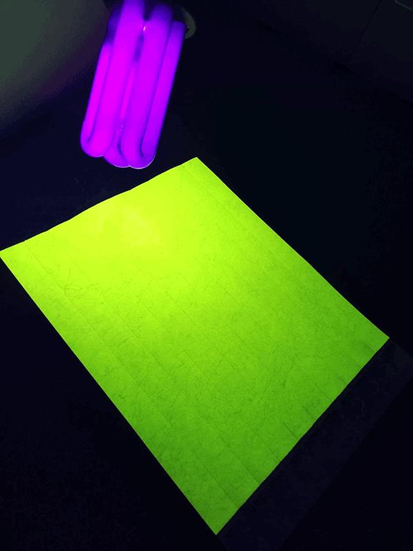 Neoninė geltona renginių apyrankė